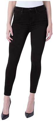 Liverpool Bridget Ankle in Black Rinse (Black Rinse) Women's Jeans