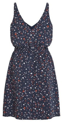 Dorothy Perkins Womens Vila Multi Colour Printed Sleeveless Dress, Multi Colour