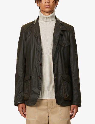 Barbour Beacon Sports waxed-cotton jacket
