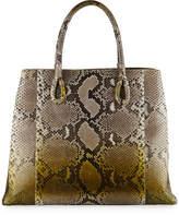 Nancy Gonzalez Python Large Tote Bag, Green 736