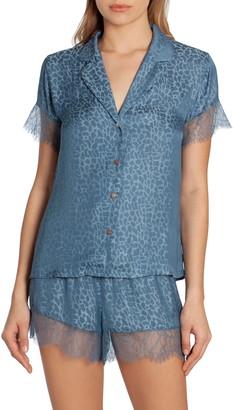 Midnight Bakery Lace Trim Short Pajamas