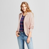 Mossimo Women's Cable Knit Cocoon Cardigan Pink