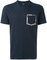 Woolrich printed pocket T-shirt