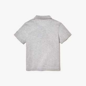 Lacoste Boys' SPORT Novak Djokovic Cotton Polo