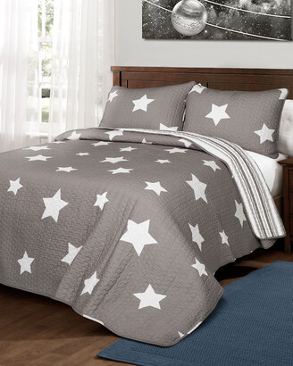 Lush Decor Star Quilt 3Pc Set