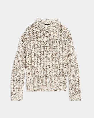 Theory Hand-Knit Sweater in Wool
