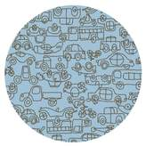 notNeutral Kids Transport Ozone Blue/Sable Area Rug Rug