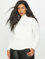 ELOQUII Plus Size Turtleneck Top