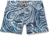 Thorsun - Titan Slim-Fit Short-Length Printed Swim Shorts