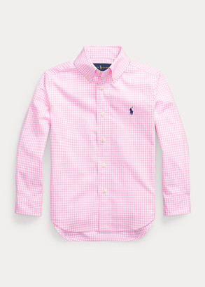 Ralph Lauren Gingham Cotton Poplin Shirt