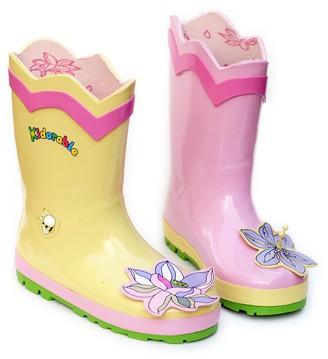 Kidorable Girl's Lotus Rain Boot