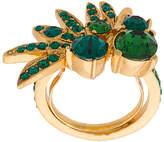 Oscar de la Renta Tropical palm ring