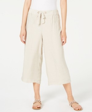 Thalia Sodi Gauze Pull-On Capri Pants, Created for Macy's