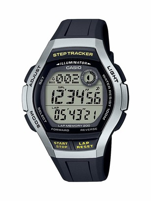 Casio Men's Quartz Fitness Watch with Resin Strap