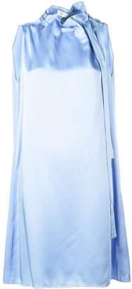 Rosetta Getty oversized neck-tied dress