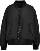 DKNY Embellished Shell Bomber Jacket