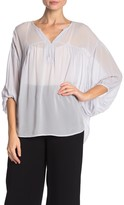 On The Road Nava 3/4 Sleeve Top