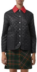 Burberry Dranefield Diamond Quilted Jacket