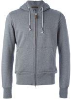 Eleventy zipped hoodie
