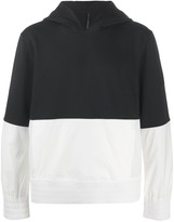 Blackbarrett colour-block pullover hoodie
