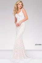 Jovani Embellished Fitted Prom Dress 47963