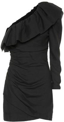 Dundas One-shoulder minidress