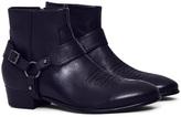 Hudson Wyman Calf Boot Black