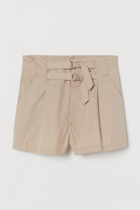 H&M Twill shorts High Waist