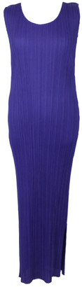 Pleats Please Blue Synthetic Dresses