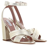 Tabitha Simmons Nora metallic leather sandals
