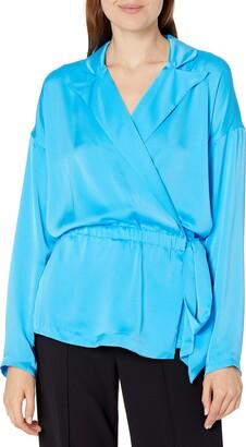 Ramy Brook Women's Rori Long Sleeve Side Tie Detail Jacket
