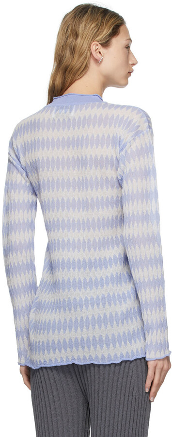 Thumbnail for your product : RUS Blue Mako Long Sleeve T-Shirt