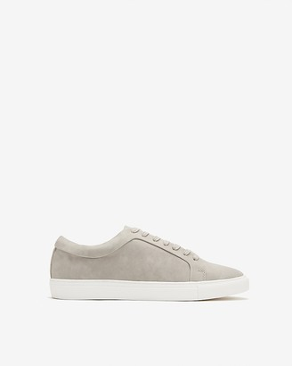 Express Faux Suede Lace-Up Sneakers