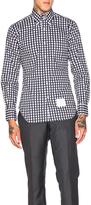 Thom Browne Dobby Check Poplin Shirt