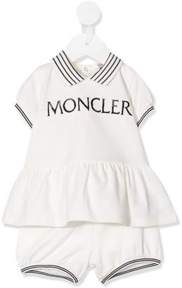 Moncler Enfant Logo-Print Two-Piece Set