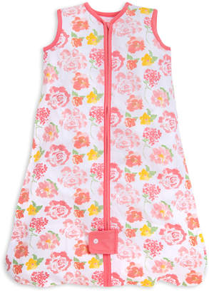 Burt's Bees Beekeeper Rosy Spring Floral Organic Baby Wearable Blanket