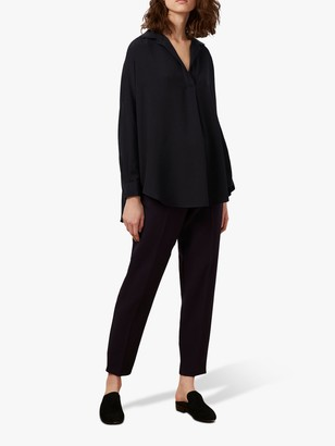 French Connection Rhodes Crepe Shirt