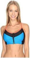 Speedo Zip Front Midi Top Women's Swimwear