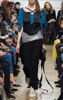 J.W.Anderson Silk Top With Utility Pockets
