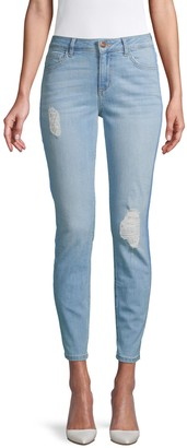 Siwy Lauren Destructed Skinny Ankle Jeans