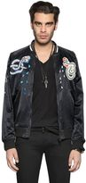 Diesel Reversible Satin Bomber Jacket