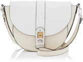 Proenza Schouler PS11 Medium Two-Tone Leather Saddle Bag