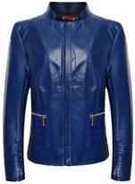 iLory Women Zipper Collar Faux Leather Jacket Biker Jacket Casual Coat Plus