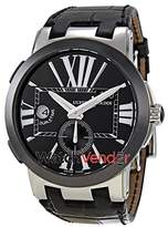 Ulysse Nardin Executive Dual Time Automatic Leather Men's Watch 243-00-42