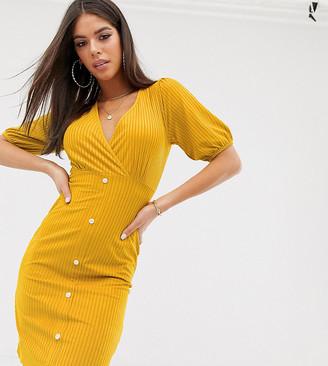 Asos Tall ASOS DESIGN Tall mini stretch cord tea dress