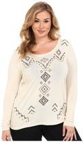 Roper Plus Size 0020 Sweater Jersey Tunic