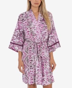 Linea Donatella Nima Printed Wrap Robe