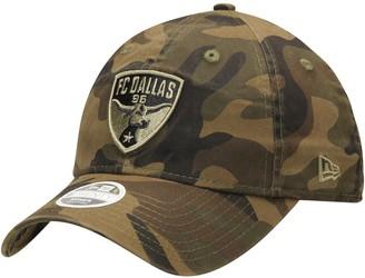 New Era Women's Camo FC Dallas Core Classic Tonal 9TWENTY Adjustable Hat