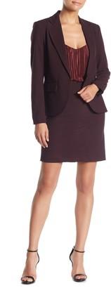Amanda & Chelsea Classic Slim Pencil Skirt (Petite)