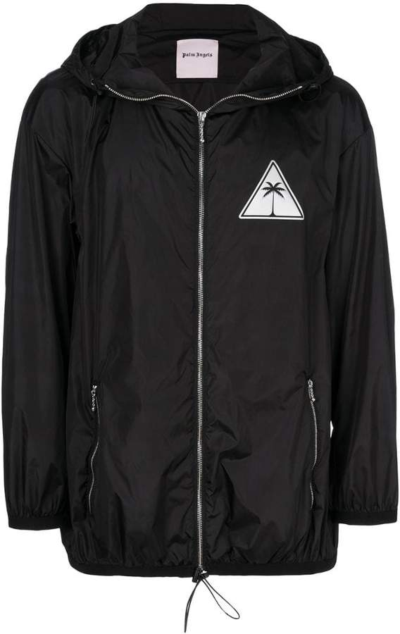 Palm Angels palm icon windbreaker